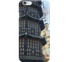 Pagoda Temple, Harbin, China iPhone Case/Skin