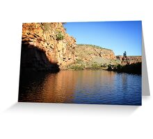Champagne Gorge Greeting Card