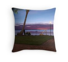 Darwin Twighlight Throw Pillow