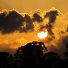 Sunset over St. Augustine by Caren
