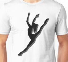 Dancers Silhouette  Unisex T-Shirt