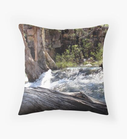 Umbrawarra Throw Pillow