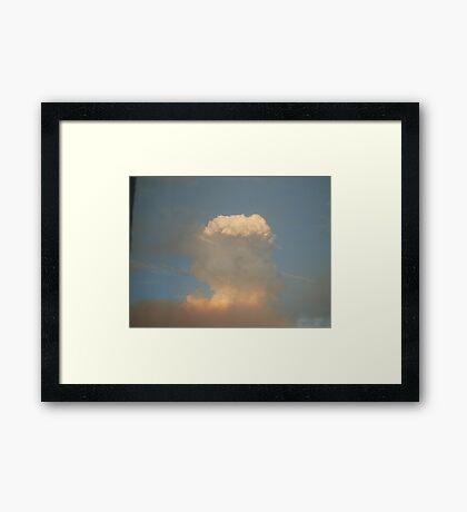 Nuclear War?? Framed Print