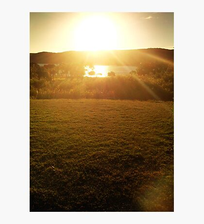 Afternoon Glory Photographic Print