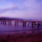 Sundown Jetty by Caine Mazoudier