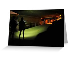Ghost Hunting Greeting Card