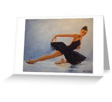 Movement-Ballet Greeting Card