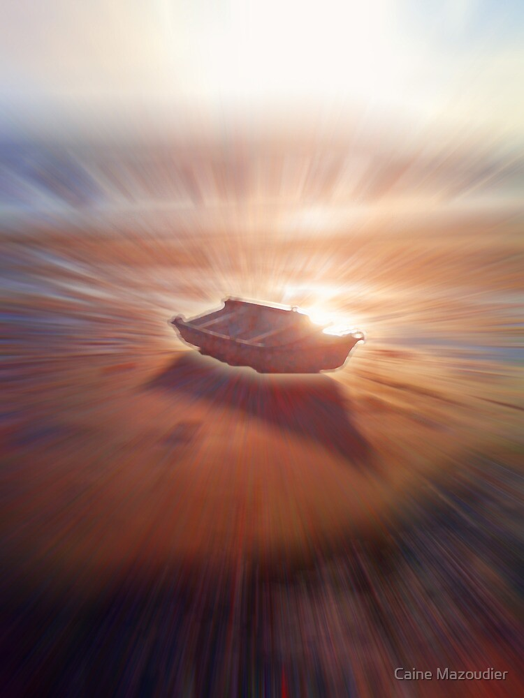 Boat Glow by Caine Mazoudier