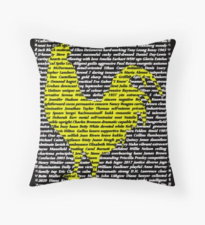"""The Year Of The Rooster / Cockerel"" Throw Pillow"