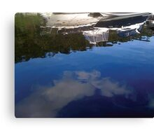 Boat Reflections Canvas Print