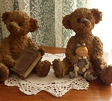 teddys love to read by chrissy mitchell