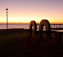 Art Sculpture At Glenelg, South Australia by burrster