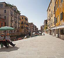 Venetian Street by shutterjunkie