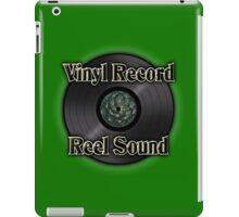 Vinyl record reel sound iPad Case/Skin