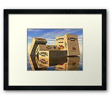100 Camels Framed Print