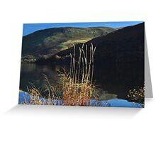 Ullswater autumn stillness Greeting Card