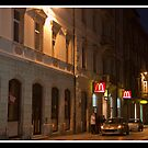 McDonalds in Pula - Croatia by Adrian I Barnett