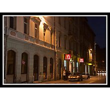 McDonalds in Pula - Croatia Photographic Print