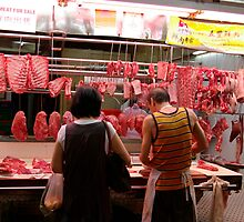 At the butcher shop by robigeehk