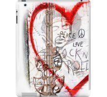 I love Rock'nRoll iPad Case/Skin