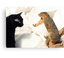 Seriously? Canvas Print
