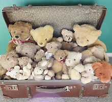 `*old teddys *` by chrissy mitchell