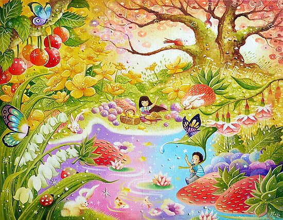 Magical Garden by May Ann Licudine