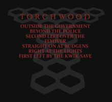 Torchwood Parody T-Shirt