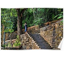 Teenager takes panoramic photos of Tomar Poster