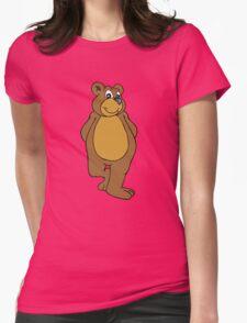 Cute Bear Womens Fitted T-Shirt