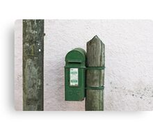 Kinsale postbox Canvas Print