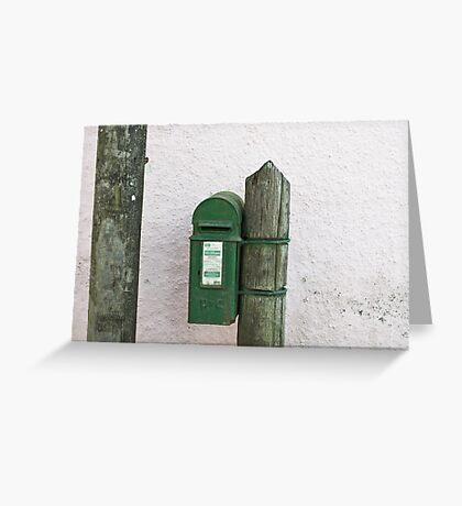 Kinsale postbox Greeting Card