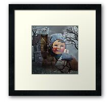 ITS THE HEART THAT MAKES A HOUSE A HOME Framed Print