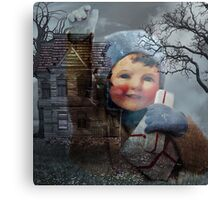 ITS THE HEART THAT MAKES A HOUSE A HOME Canvas Print