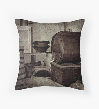 Store Room Throw Pillow