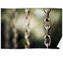 chains can be curtains Poster