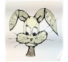 Scribbler - Bunny Poster