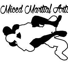 Mixed Martial Arts Rear Naked Choke Black  by yin888