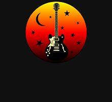 Old Guitar,moon,stars Hoodie