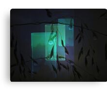 Transparent glasses Canvas Print