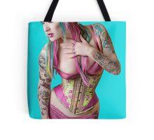 Blueberry Bubblegum: Tote Bag