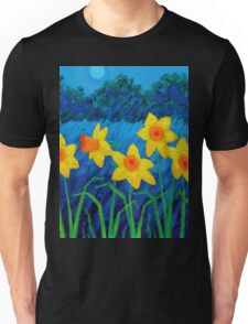 Moonlit Daffs Unisex T-Shirt