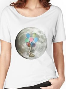 Steampunk Flying Machine Women's Relaxed Fit T-Shirt