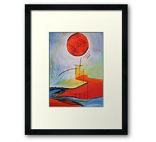 Landscape Echo-2 Framed Print