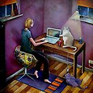 Working from Home by Victoria Stanway