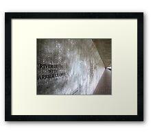 Underpass - Greenwich Framed Print