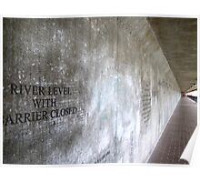 Underpass - Greenwich Poster