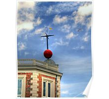 Time Ball - Royal Observatory, Greenwich Poster