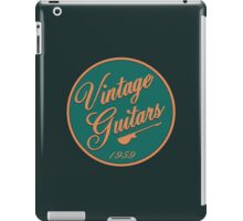 vintage guitars 1959 iPad Case/Skin