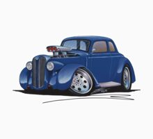1936 Plymouth Coupe (B) Blue by Richard Yeomans